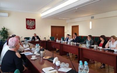 Spotkanie Przedstawicieli KZRKiOR z Ministrem Rolnictwa i Rozwoju Wsi – 8.08.2019 r.