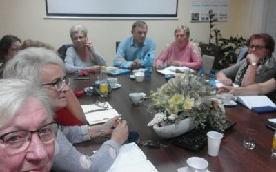 Rada Powiatowa KGW w KŁOBUCKU oczkiem w głowie PREZESA